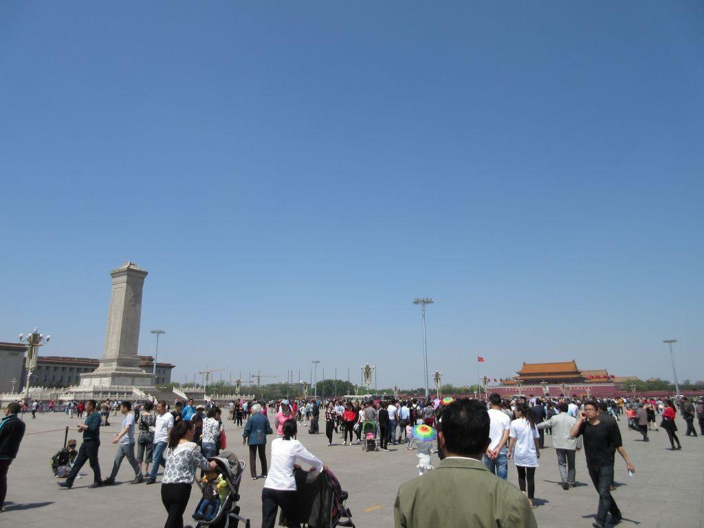 Pekin - plac Tiananmen