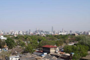 Widok z Wieży Bębnów