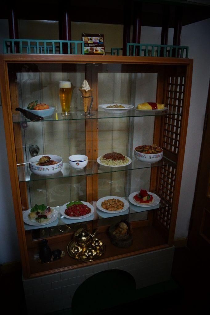 Restauracja Arirang - sztuczne jedzenie