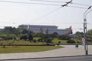 Pjongjang - Pomniki Wzgórza Mandudae