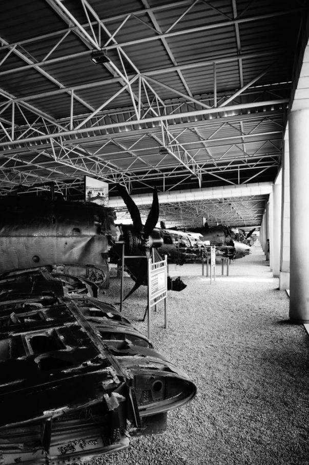 Muzeum Zwycięskiej Wojny o Wyzwolenie - eksponaty