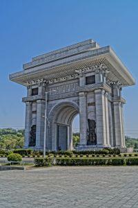Pjongjang - Łuk Triumfalny