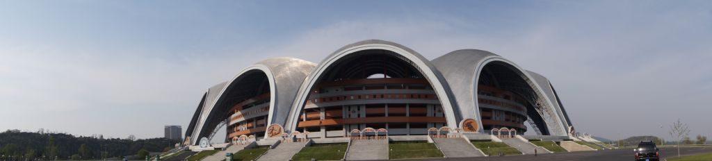 Pjongjang - Stadion Majowy panorama