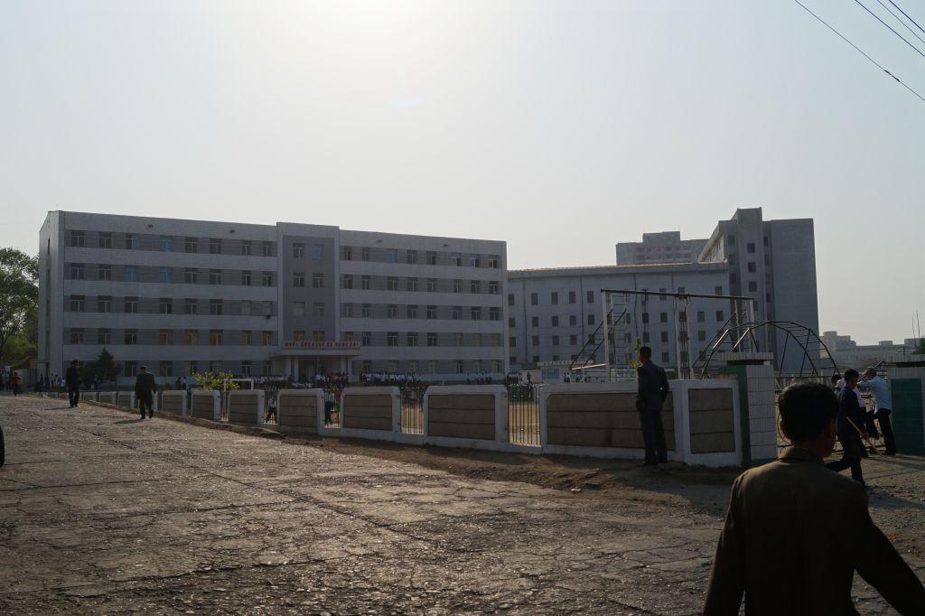 Pjongjang - szkoła