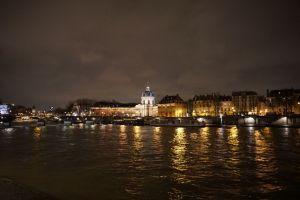 Paryż - wybrzeże Sekwany