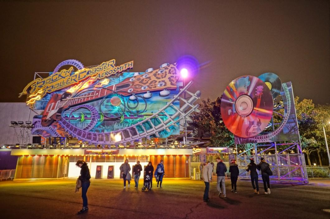 Walt Disney Studios Paris - Rollercoaster Aerosmith