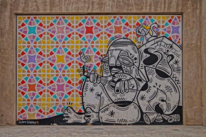Bastakia - mural