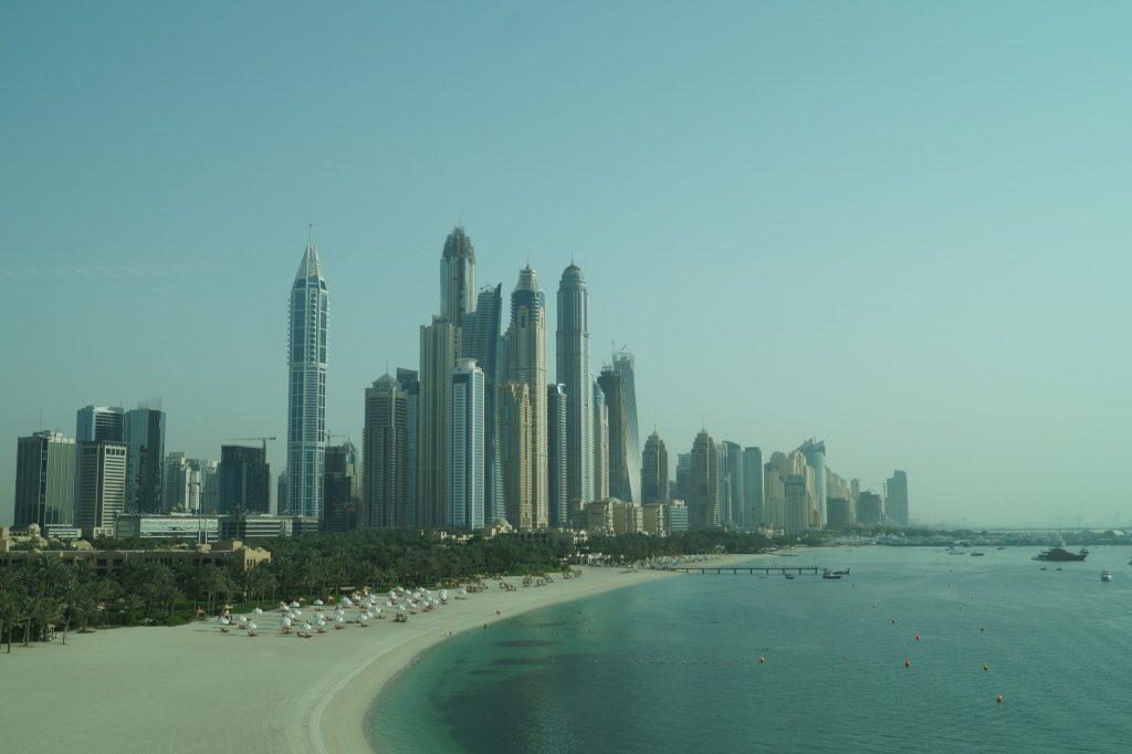 Dubaj z Palm Jumeirah