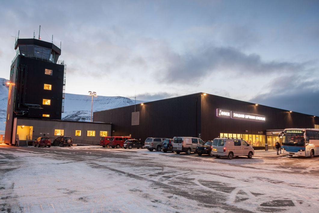 Lotnisko w Longyearbyen - Svalbard