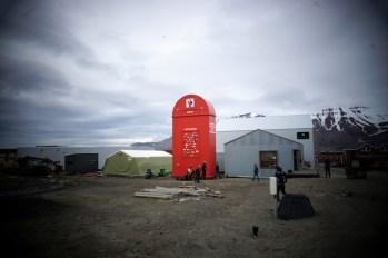 Longyearbyen - skrzynka Świętego Mikołaja