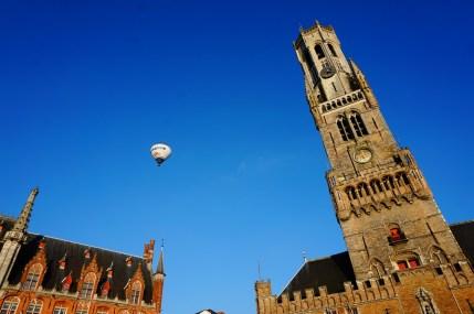 Brugia - balon i dzwonnica