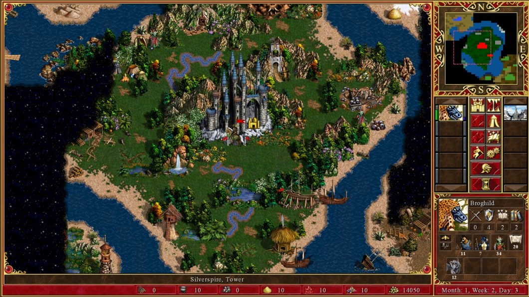 Heroes of Might & Magic III - widok