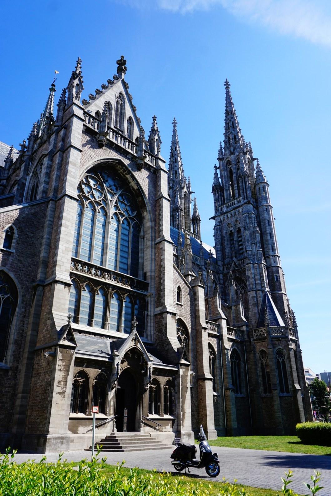Ostenda - Katedra św. Piotra i Pawła