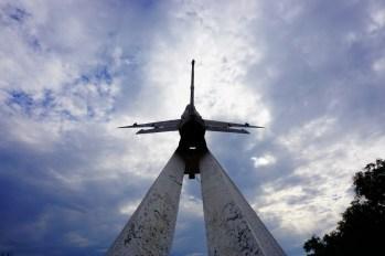 Aktau - Pomnik Pilotów MiGów