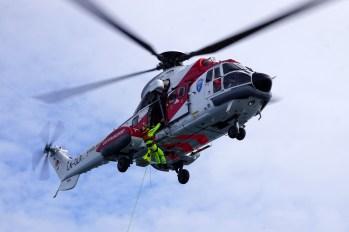 Svalbard - ćwiczenia ratunkowe