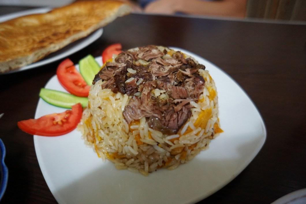 Jedzenie w Azji Centralnej - Pilaw