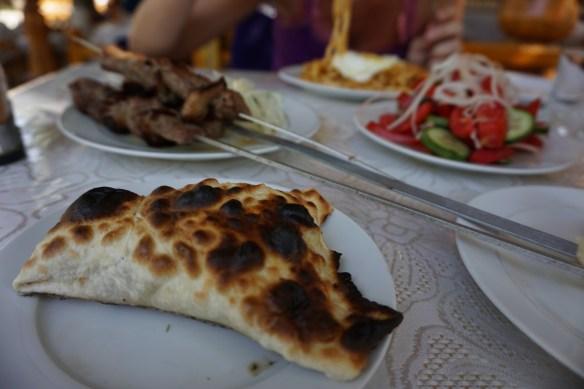 Jedzenie w Azji Centralnej - Samsy