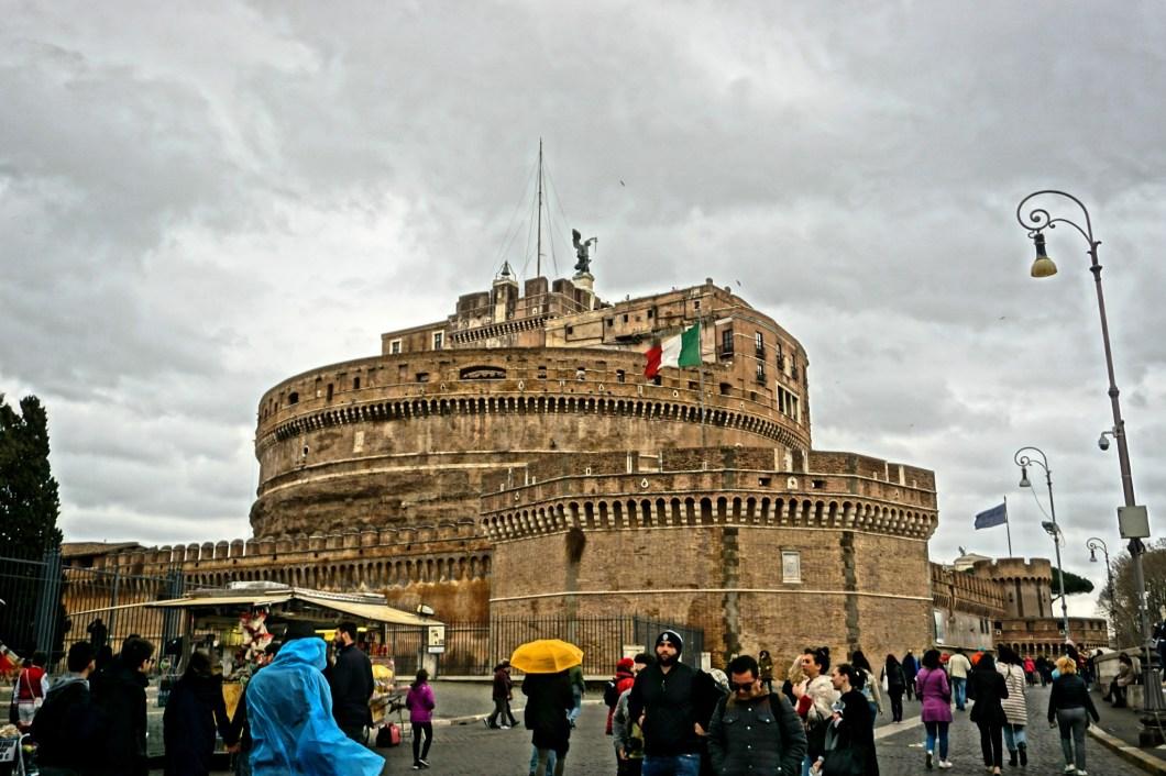 Alternatywne atrakcje Rzymu - Castel Sant'Angelo 1
