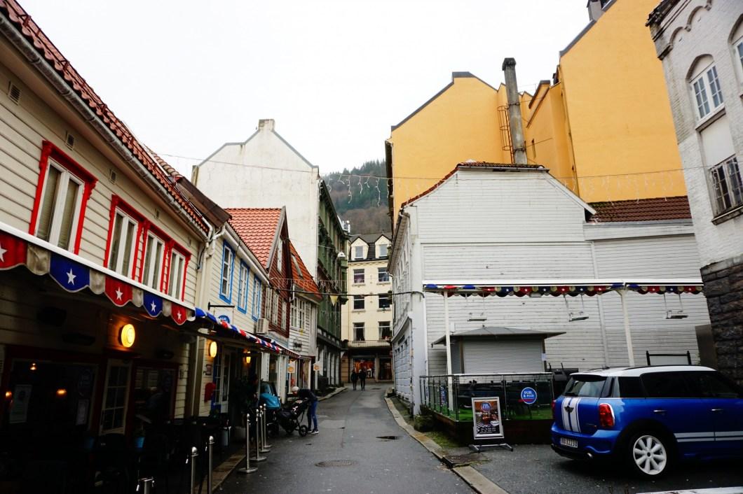 Bergen - uliczki