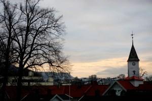 Bergen z daleka