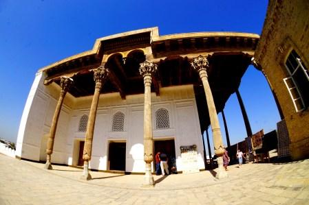 Buchara - letni meczet w Ark