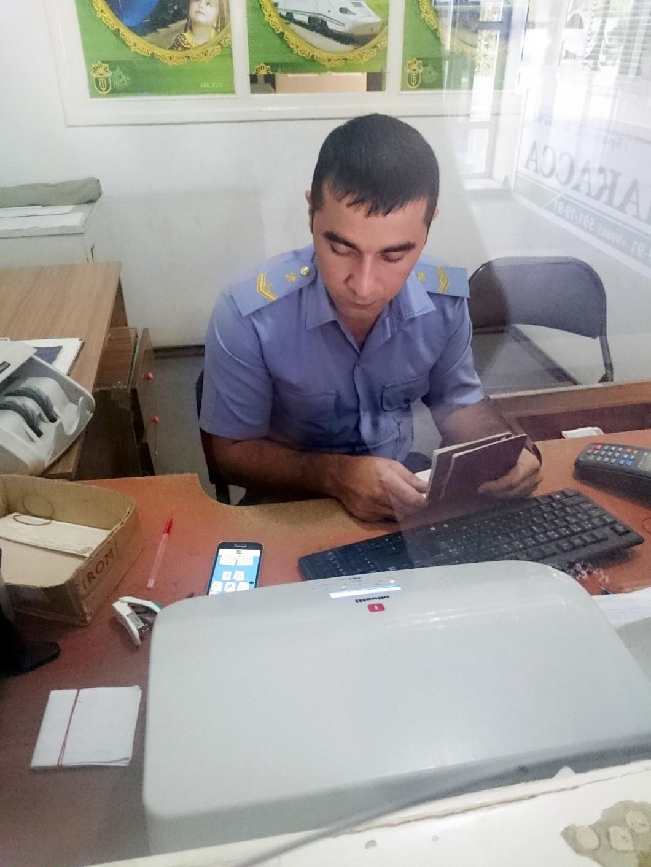 Kupno biletów w Uzbekistanie