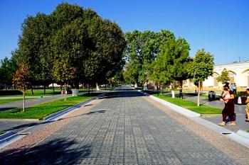 Samarkanda - droga z Registanu do dzielnicy żydowskiej