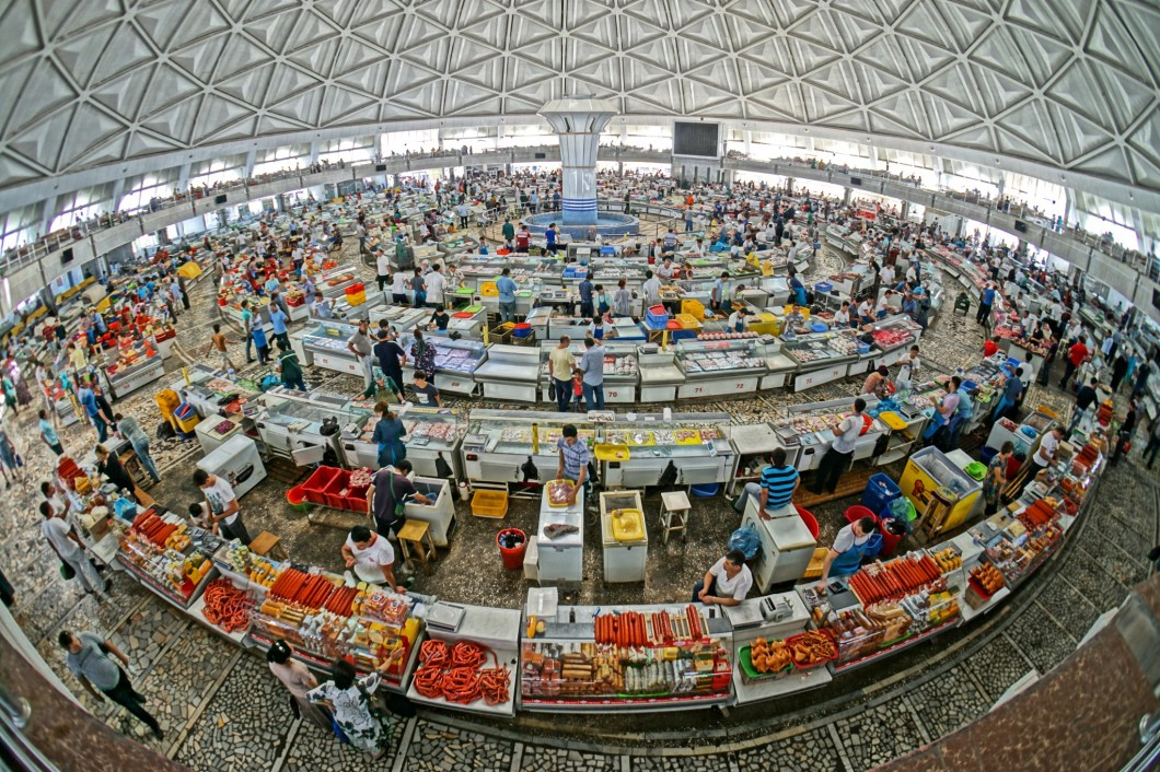 Taszkient - Chorsu Bazaar