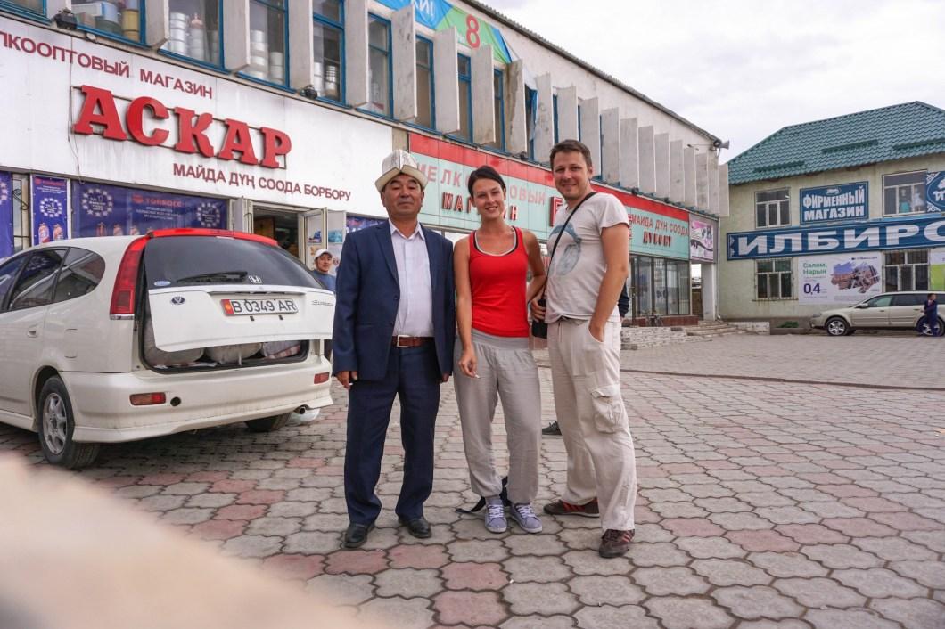 Kirgistan - przyjazny dziadek