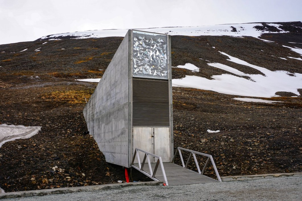 Global Seed Vault - front