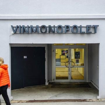 Południowa Norwegia - Grmistad, sklep alkoholowy