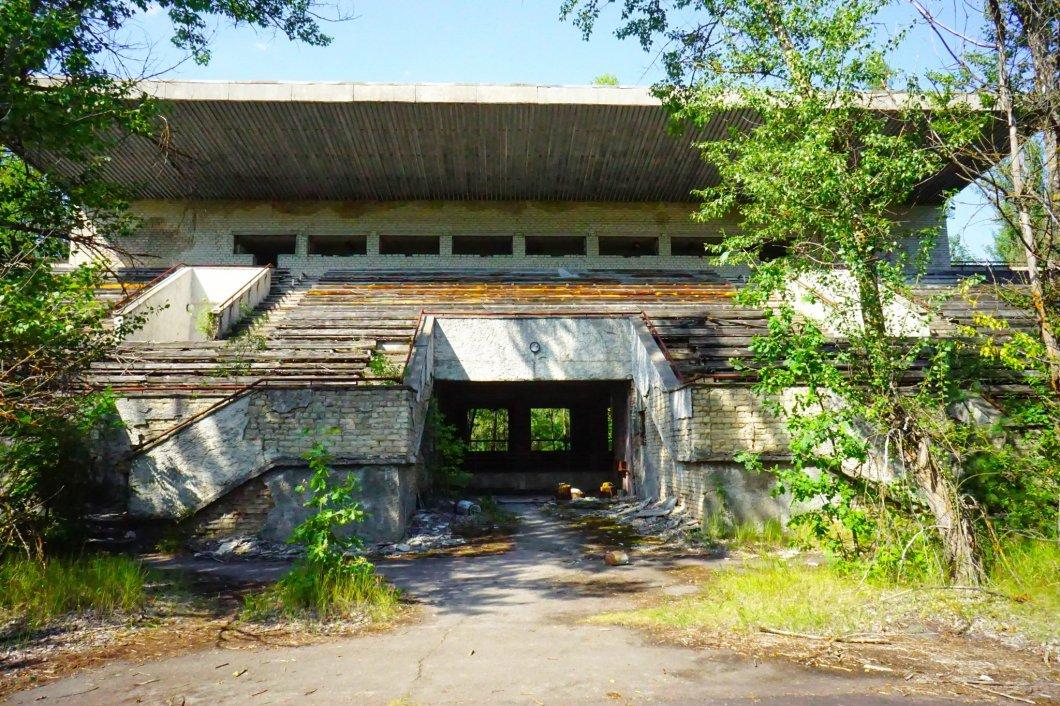 Czarnobyl - Stadion w Prypeci