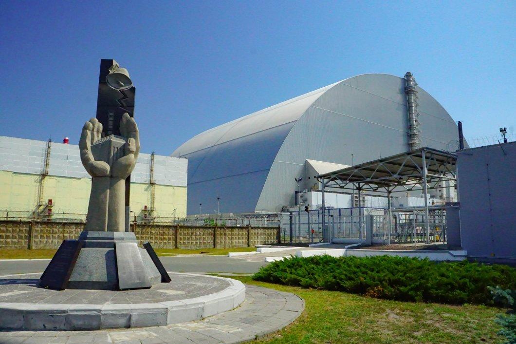 Czarnobyl - pomnik Likwidatorów