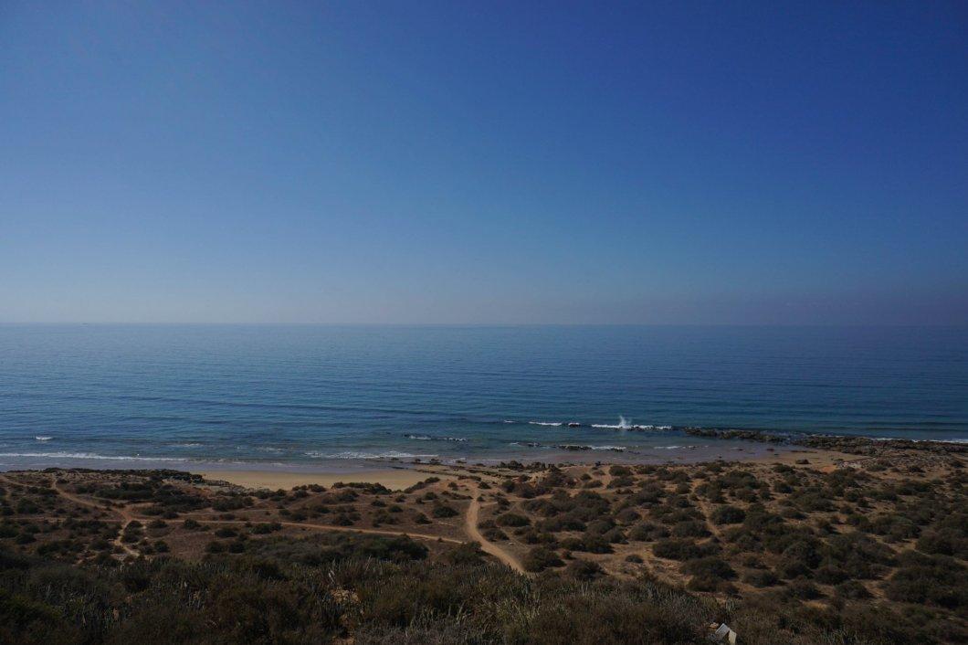 Agadir - plaża w okolicy