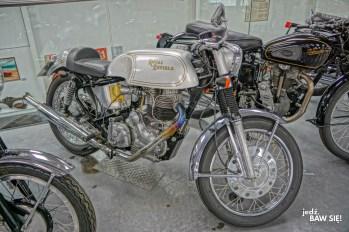Atrakcje wyspy Man - Isle of Man Motor Museum - Royal Enfield