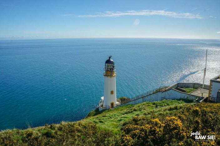 Atrakcje wyspy Man - Maughold - latarnia morska