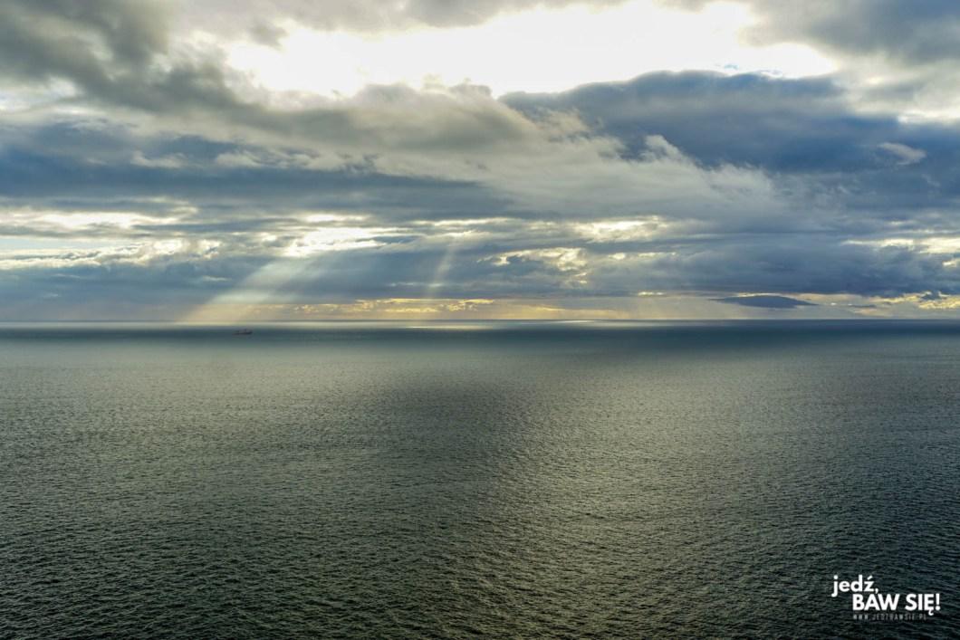 Atrakcje wyspy Man - Niarbyl - widok w ciągu dnia