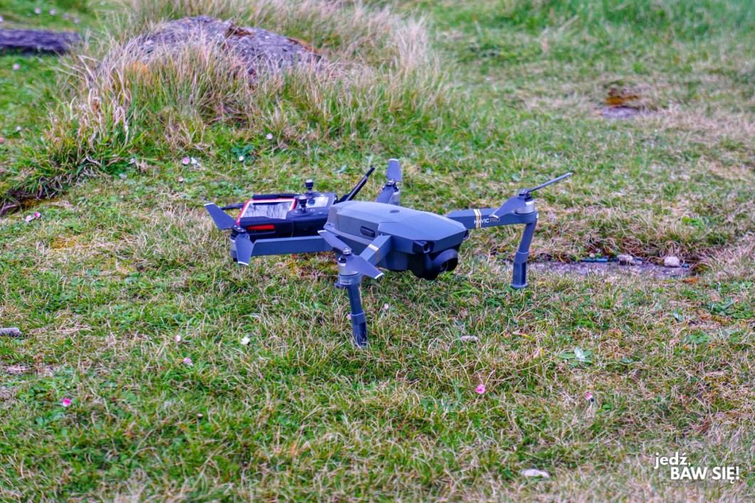 Z dronem za granicę - Wyspa Man