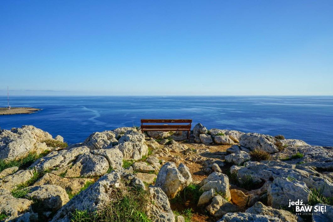 Cape Greco - widok na zatokę