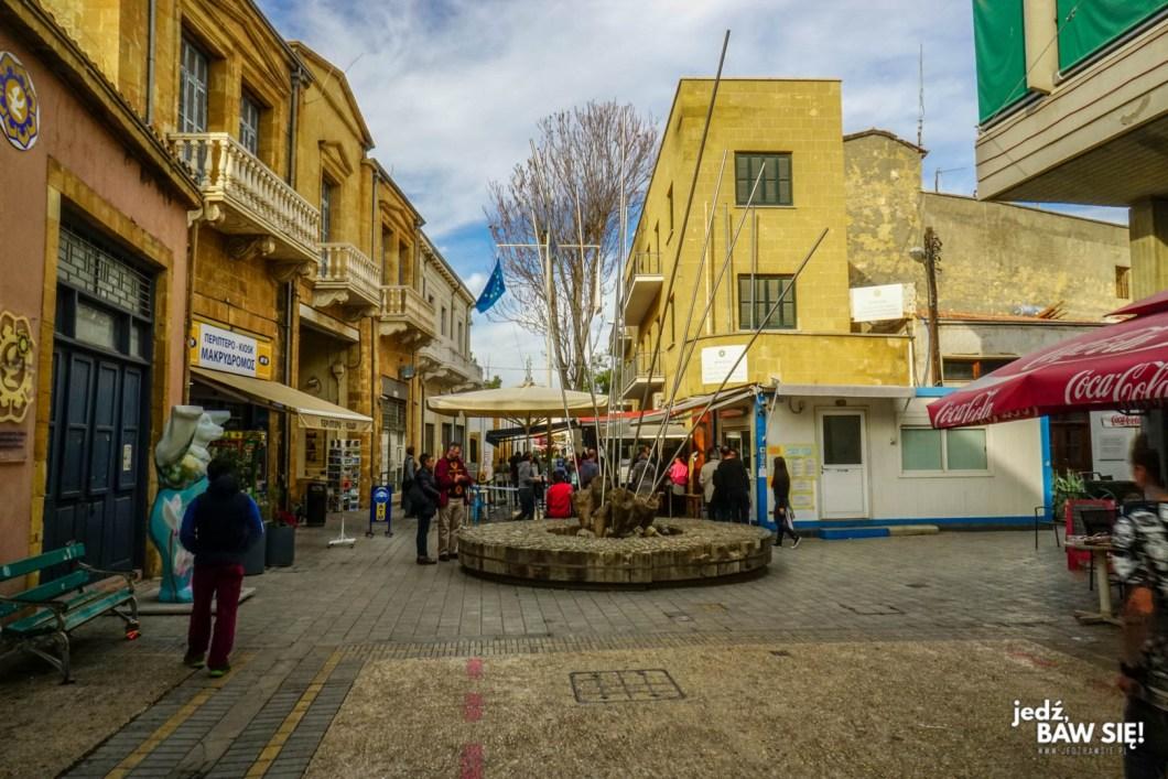 Nikozja - Ledra Checkpoint