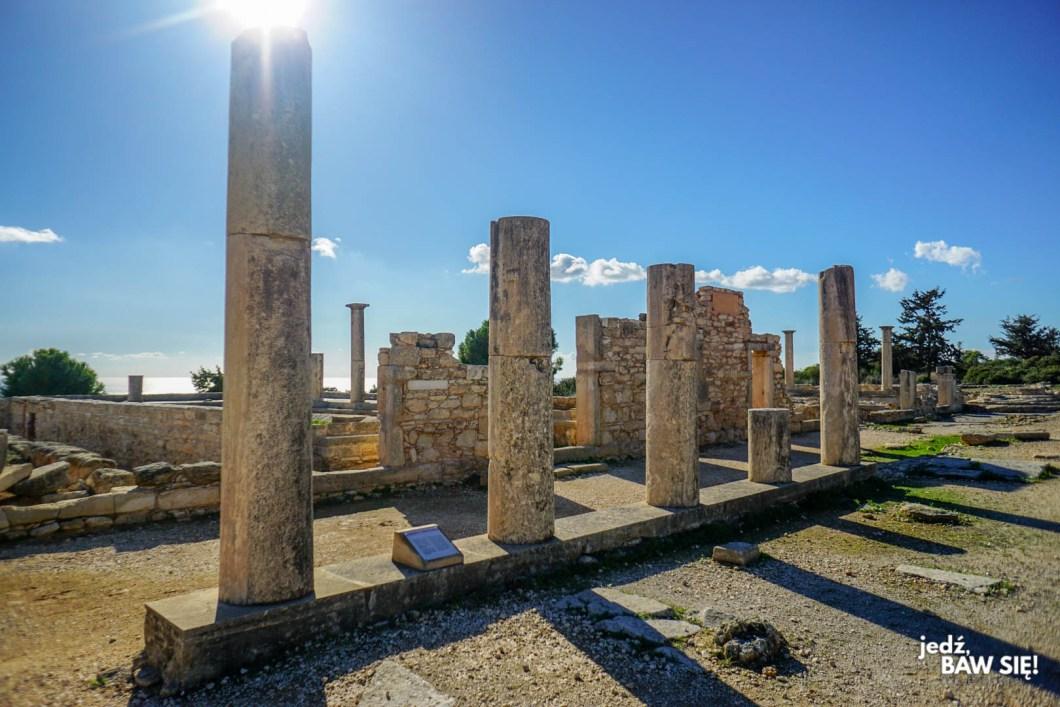 Limassol - Świątynia Apolla