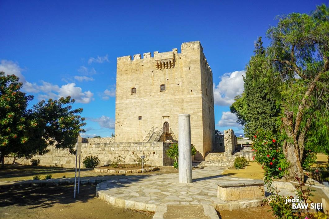 Limassol - zamek Kolossi