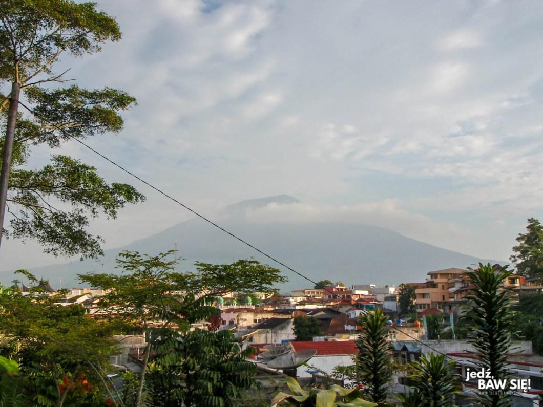 Bukkitingi - wulkan Merapi