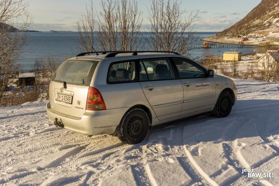 Wynajem samochodu w Tromso - RentAWreck