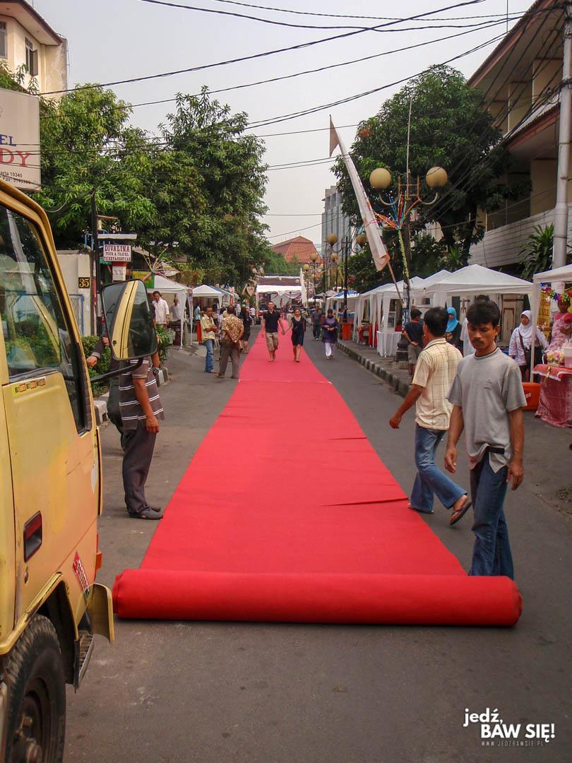 Dżakarta - lokalny festiwal