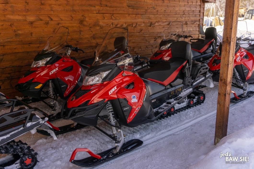 Tromso - skuter śnieżny