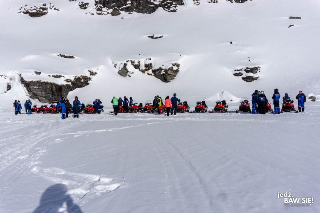 Tromso - skuterem po jeziorze
