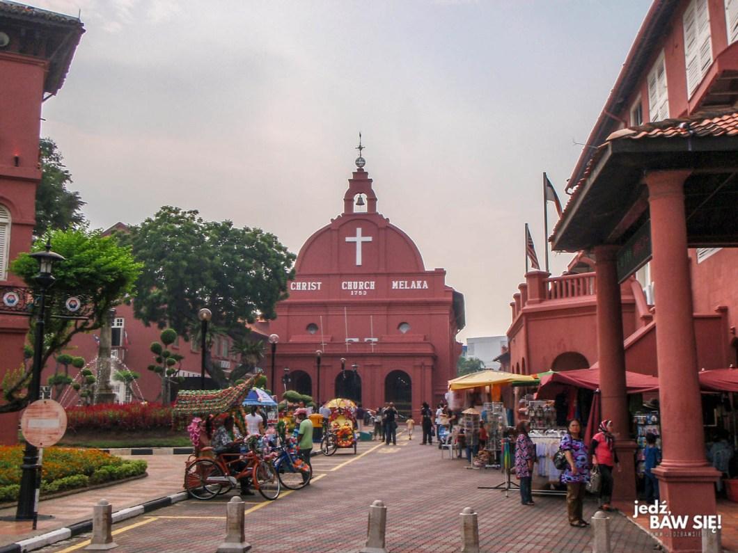 Melaka - kościół chrystusowy
