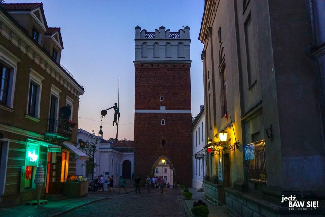 Sandomierz - instalacje