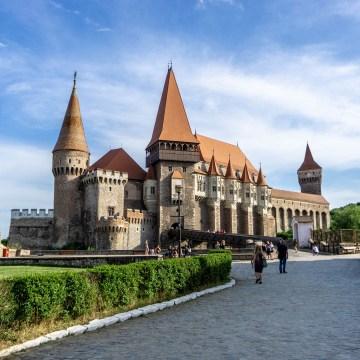 Rumunia - Zamek w Hunedoarze